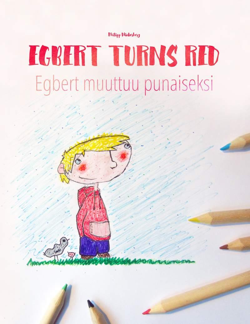 Egbert muuttuu punaiseksi